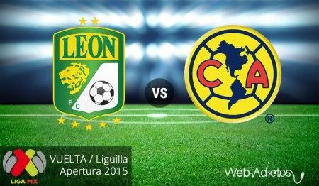 León vs América, Liguilla del Apertura 2015 ¡En vivo por internet! | Partido de vuelta