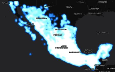 El gran mapa del Internet gratuito en México