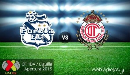 Puebla vs Toluca, ida en la liguilla del AP2015 ¡En vivo por internet!
