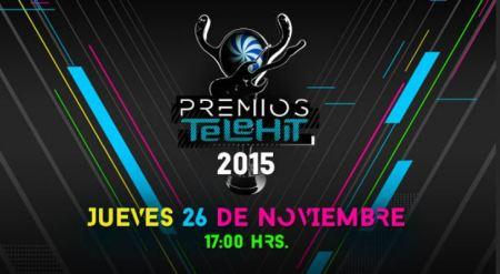 No te pierdas los Premios Telehit 2015 por Internet