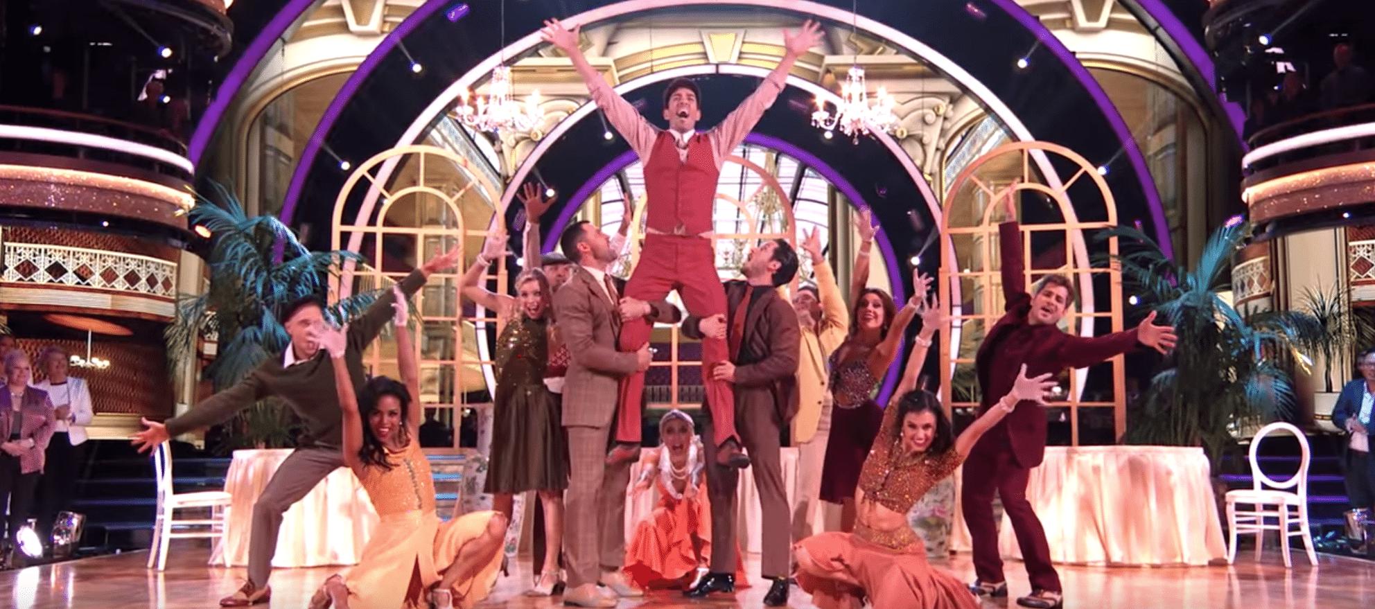 Fullsize Of Drew Scott Dancing With The Stars