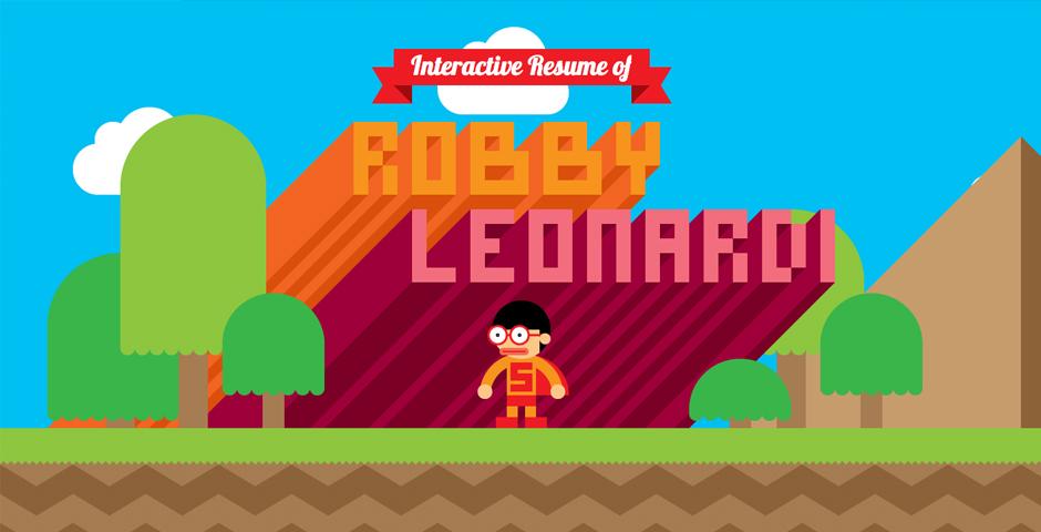 Robby Leonardi\u0027s Interactive Resume -- The Webby Awards