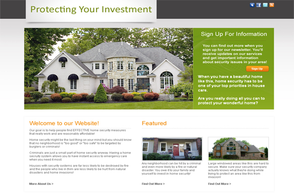 Ready - Real Estate agent template Free Website Templates - neighborhood website templates