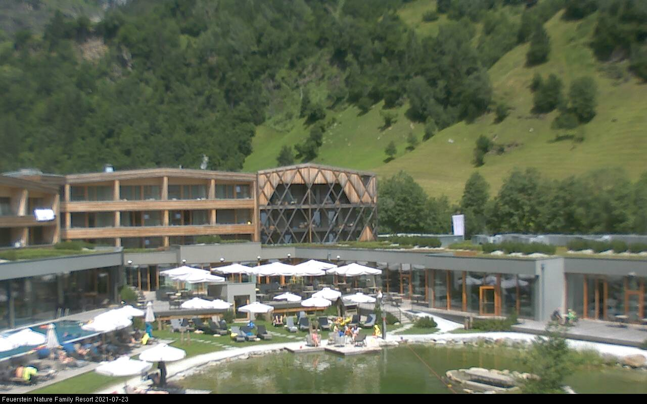 Webcam Ludwigsburg Webcam Pflersch Valley | Feuerstein Nature Family Resort