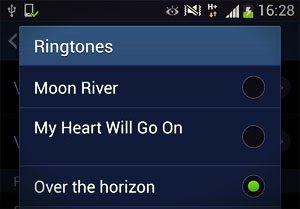 ringtones list