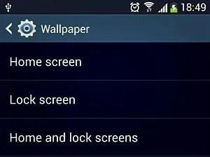 wallpaper screen