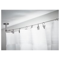 Shower Curtain Track Ceiling Mounted | Shower Curtain