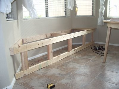 How to build your own window seat with hidden storage for Build your own window
