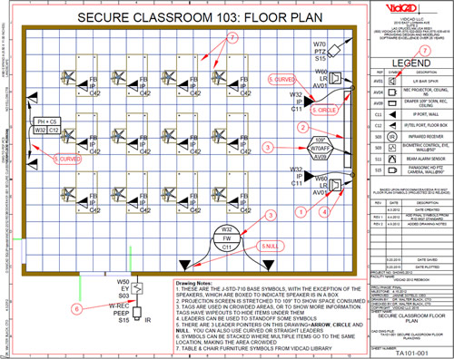 Improve Classroom Design and Maintenance with US National CAD