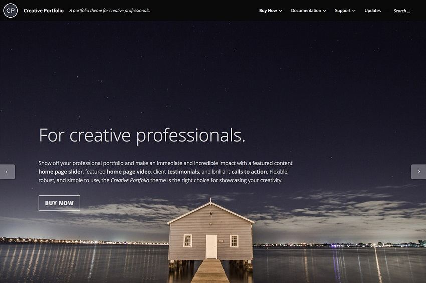 30+ Best Simple WordPress Themes of 2018 (UPDATED) - portfolio cover page template
