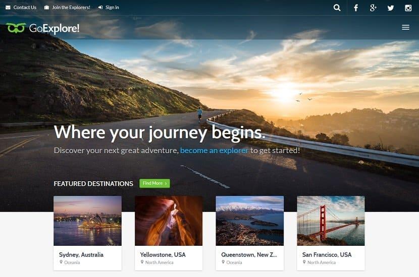 Best Travel WordPress Themes of 2018 (UPDATED) - WebCreateMe - wordpress travel themes