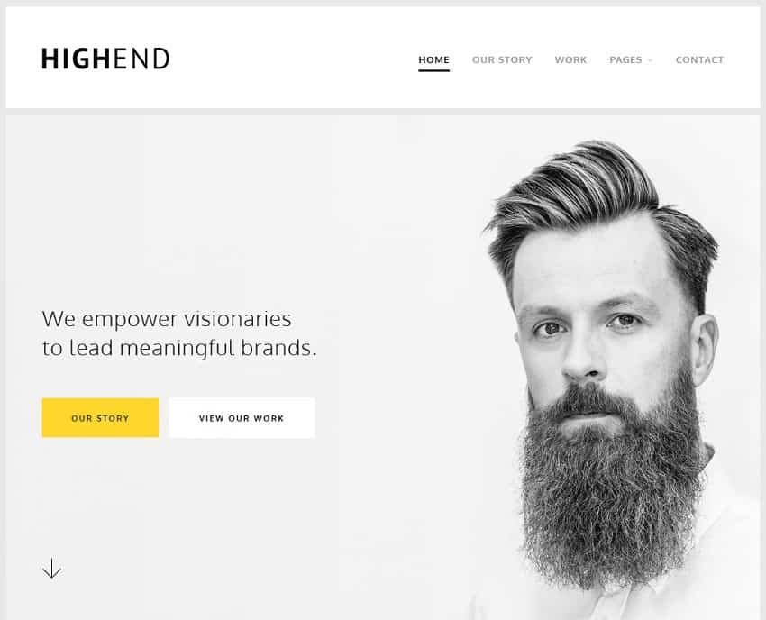 55 Best BUSINESS WordPress Themes of 2018 (UPDATED) - phone message template