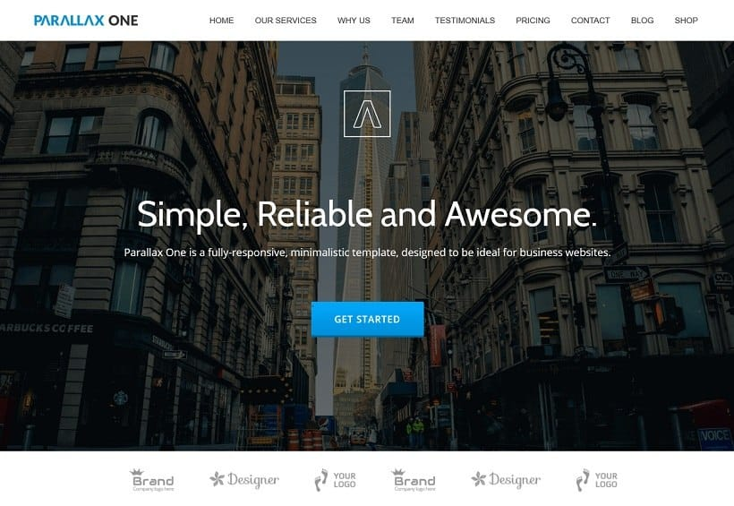 55 Best BUSINESS WordPress Themes of 2018 (UPDATED) - business case templates free