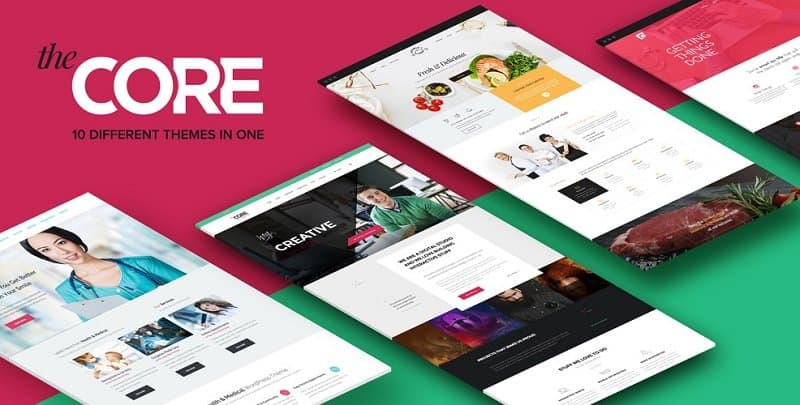 55 Best BUSINESS WordPress Themes of 2018 (UPDATED) - free company profiles template