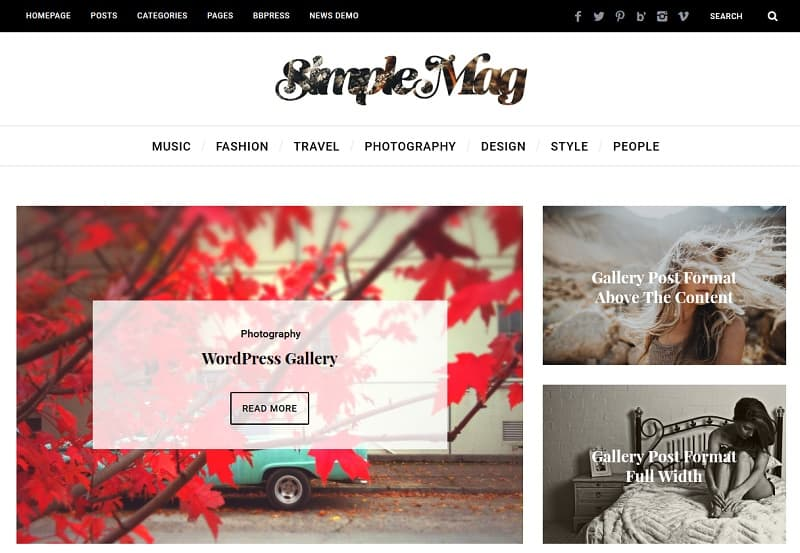 30+ Best Simple WordPress Themes of 2018 (UPDATED) - wordpress resume theme