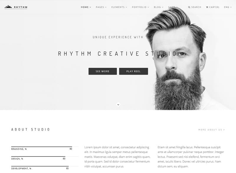 30+ Best Simple WordPress Themes of 2018 (UPDATED) - download resume template