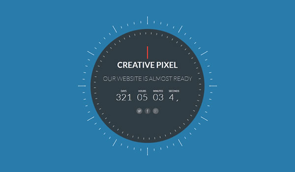 Responsive Coming Soon Page Templates - Web Design Beat