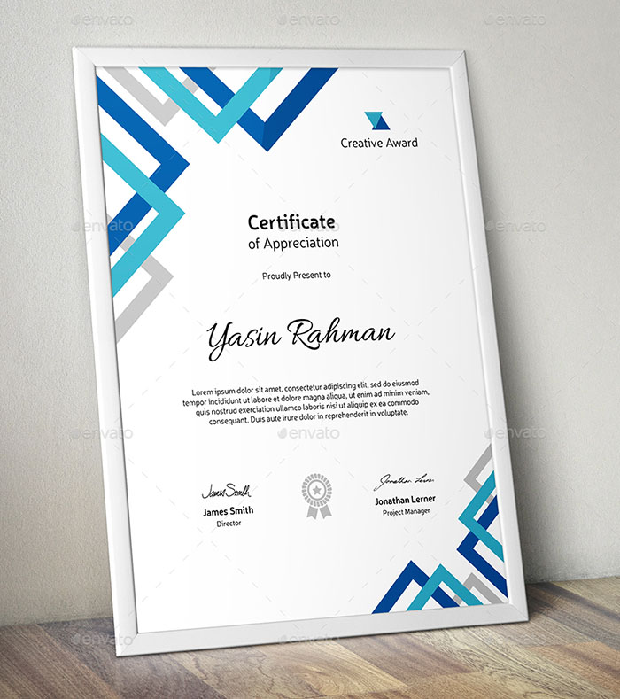70+ Best Certificate and Diploma Templates Free and Premium Download - creative certificate designs