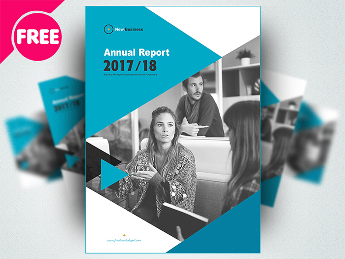 48+ Best Annual Business Report Templates (PSD, Word, PowerPoint, ID) - free report templates