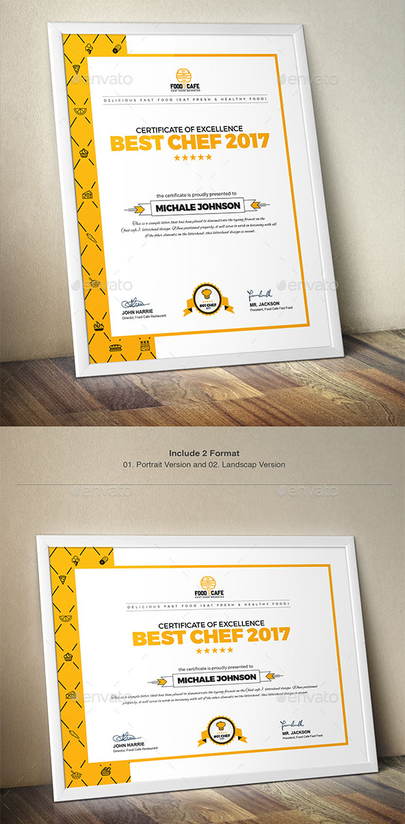 70+ Best Certificate and Diploma Templates Free and Premium Download - certificate design format