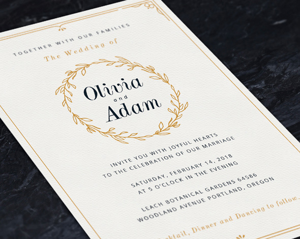 75+ High Quality Wedding Invitation Card Designs (PSD, InDesign, Vector) - wedding card designing