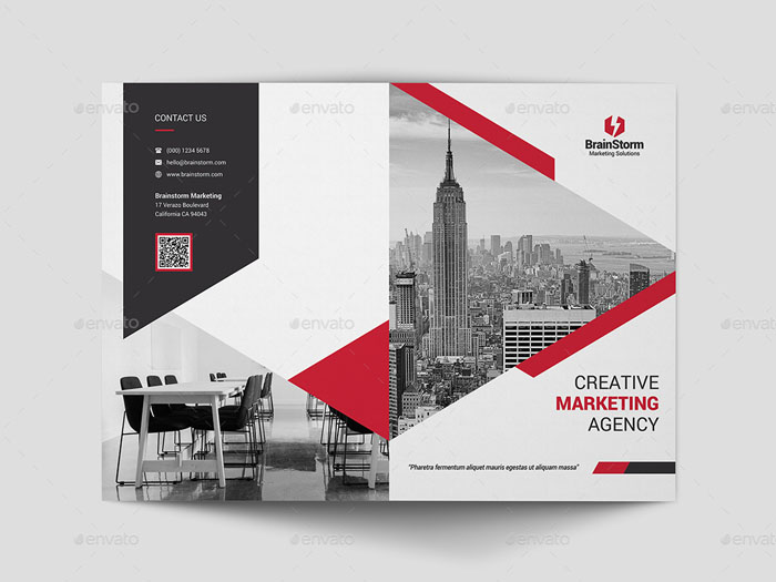 61+ Best Brochure Templates and Mockups 2018 (PSD) Free  Premium - architecture brochure template