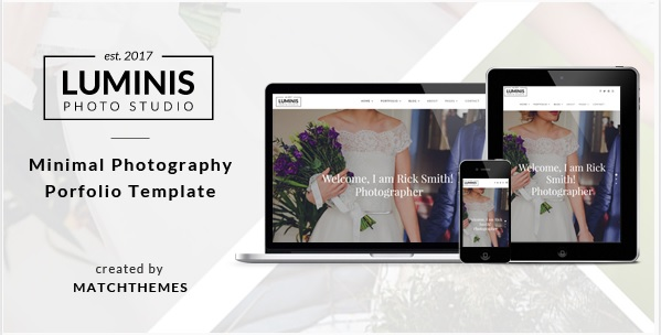 Top Free and Premium Photography Templates - Free Website Templates
