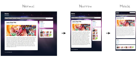 Responsive Design with CSS3 Media Queries - Web Designer Wall - Responsive Media