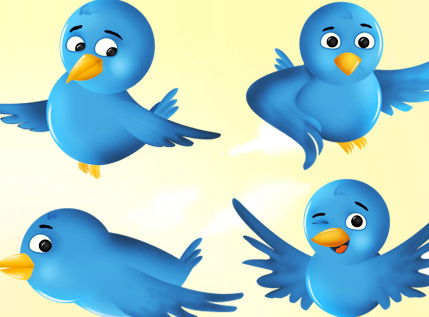 Free Twitter Bird Icon Set