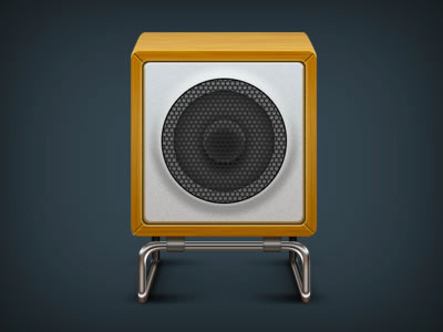 musical speakers icon app mobile iPhone iOS