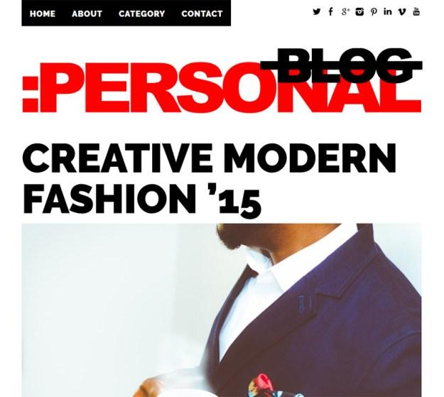 Personal-Blog-Theme-Responsive
