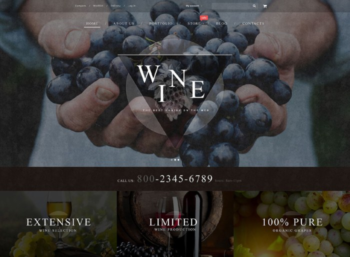 Wine WooCommerce Theme