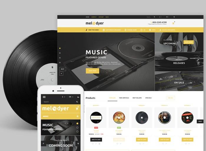 Melodyer - Audio Store Responsive PrestaShop Theme