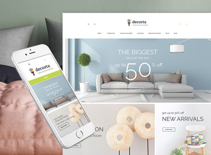 Decorta PrestaShop Theme