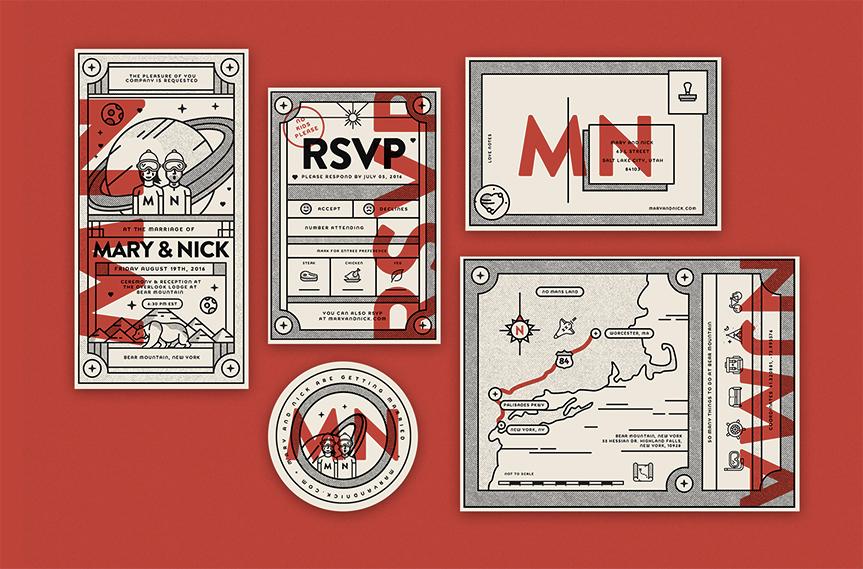 wedding-invitations-red