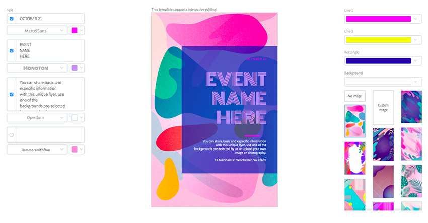 24 Cool Event Flyer Templates Using a Flyer Maker (Without Photoshop