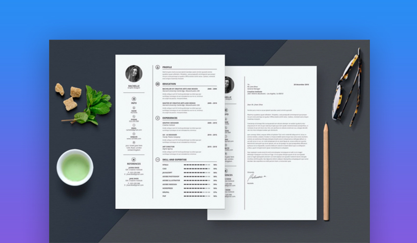20 Best Contemporary (New Styles) Resume Templates (For 2019) - Web