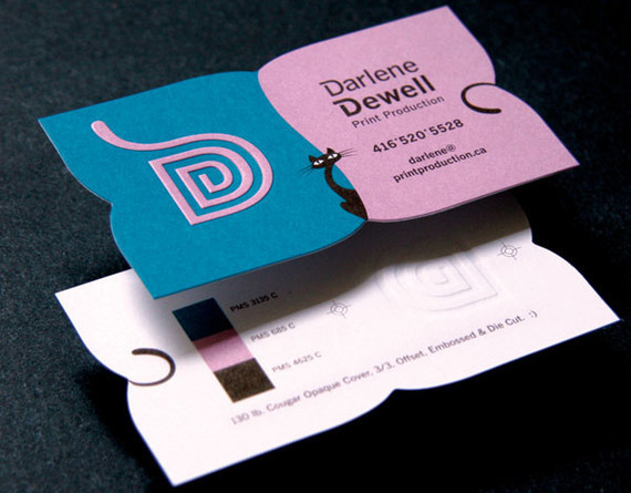 25 most creative business card designs for inspiration for Creative card design ideas