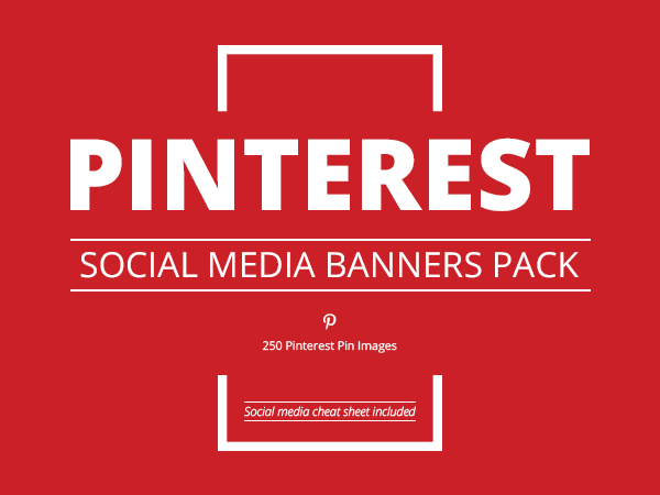 Massive Social Media Banners Pack - cover sheet for fax template