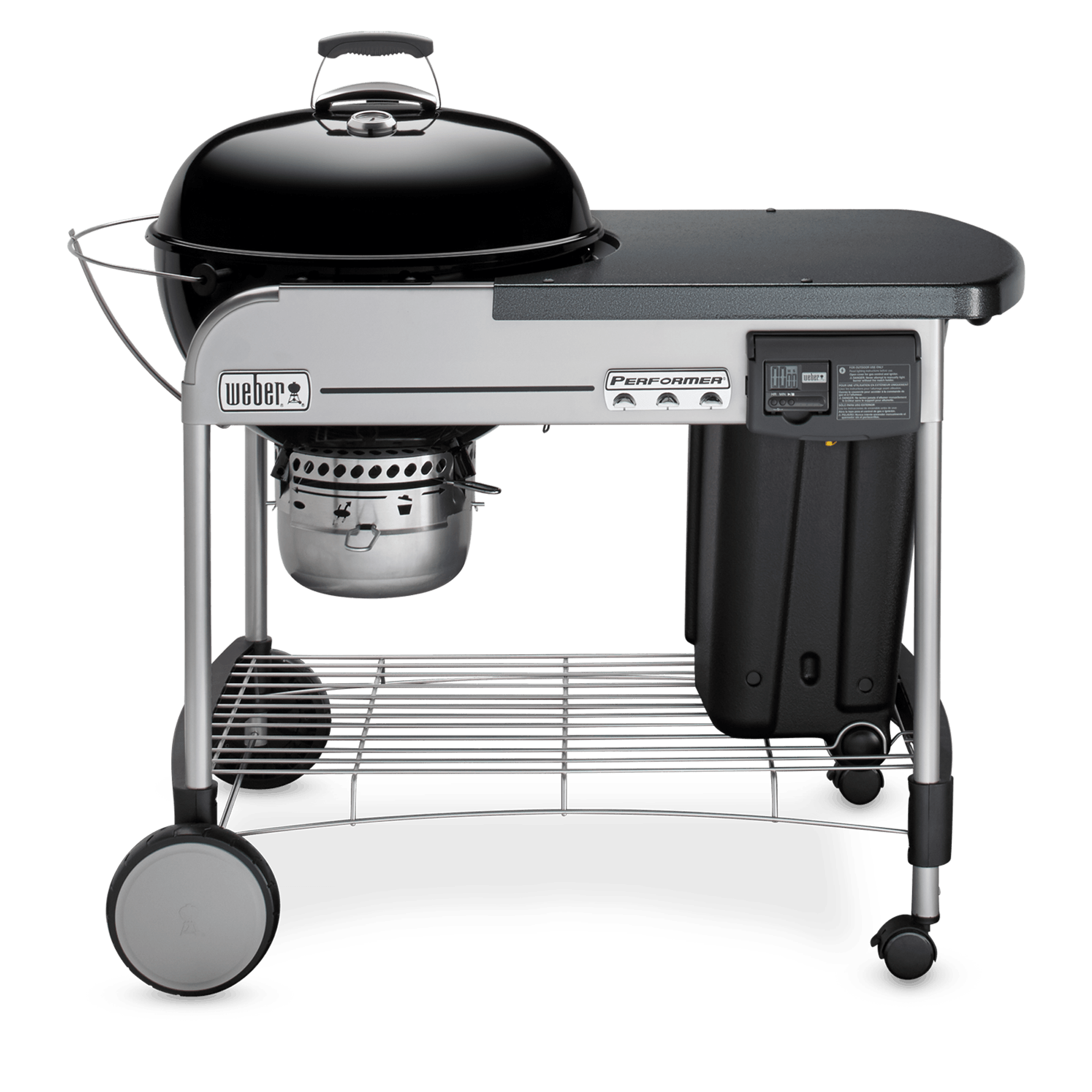 Charcoal Bbq Weber 22 Performer Deluxe Charcoal Grill Weber Grills