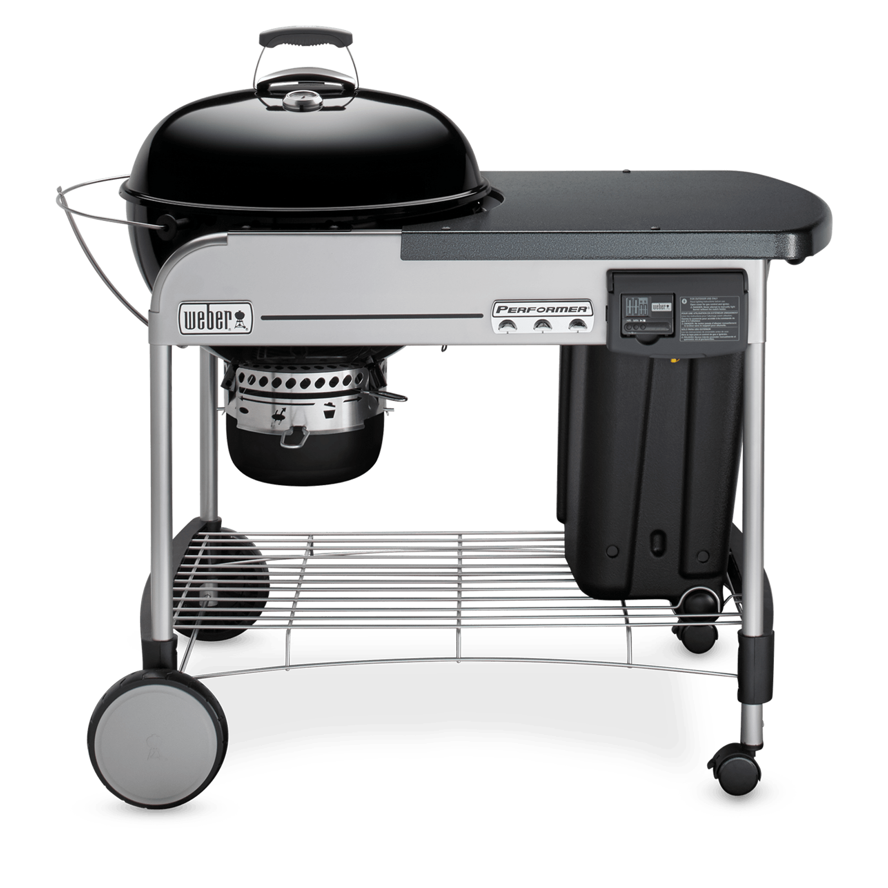 Weber Grill 57 Cm Gbs Performer Deluxe Gbs Kulgrill 57 Cm Performer Serien