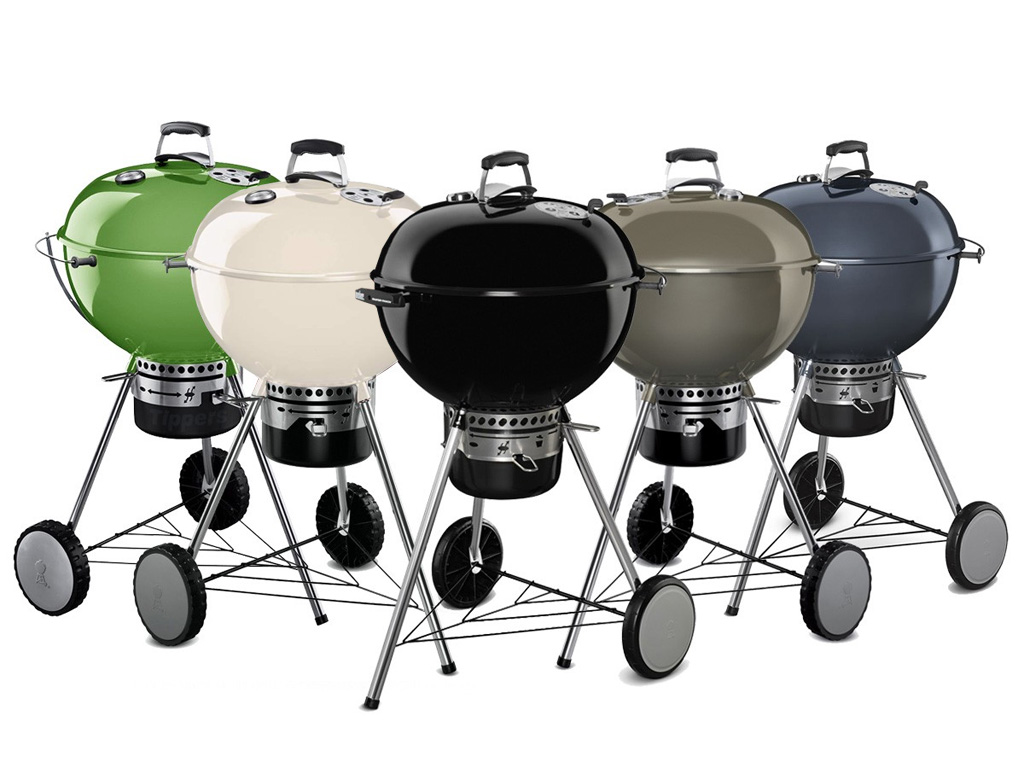 Weber Grills Canada Colored Weber Master Touch Kettles Make A Splash In