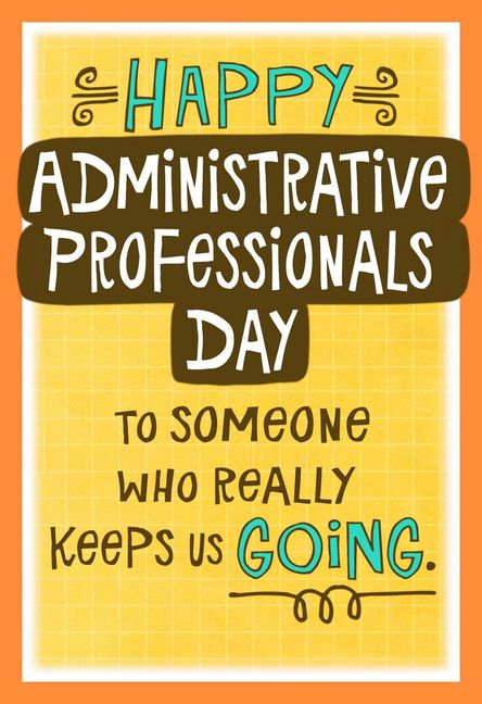 Administrative Professionals Day - Hallmark Corporate