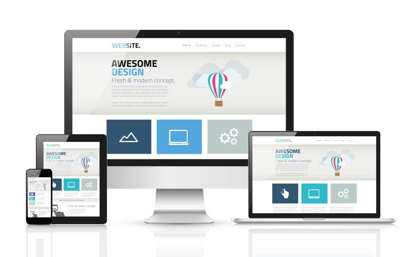 Free Website Mockup - Web Design Gibraltar - Websites, Graphics