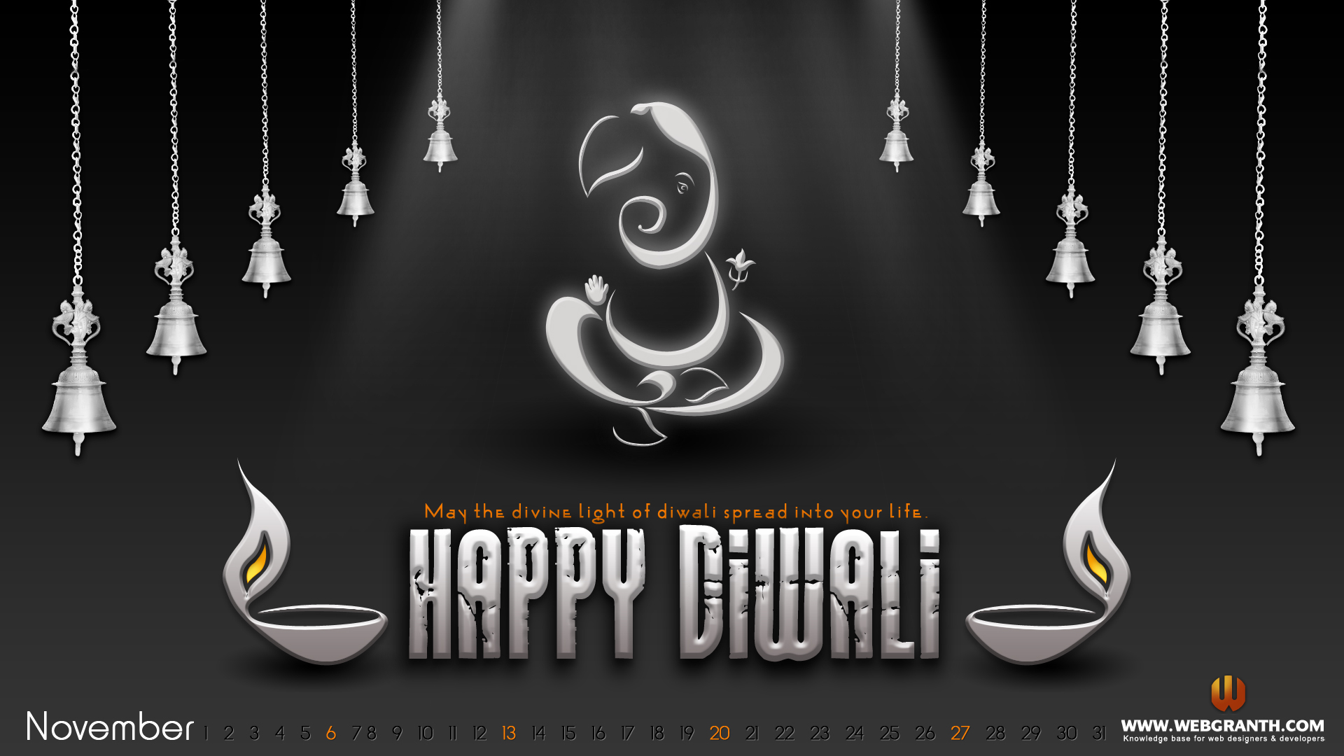 Diwali Black And White Pictures Wallpaper Calendar 2012 Free Download Desktop Wallpaper