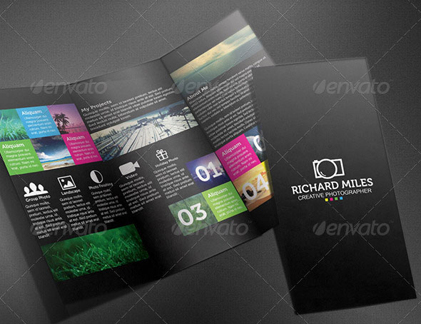 FREE Trifold Brochure Free InDesign Templates Free Indesign Tri - trifold indesign template