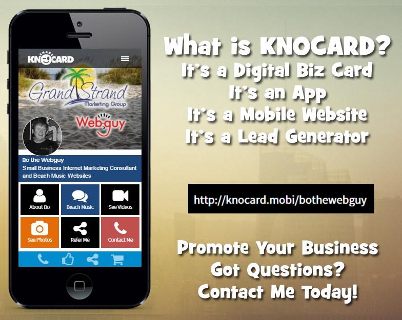 Knocard Review \u2013 Digital Business Cards - Webguy Marketing
