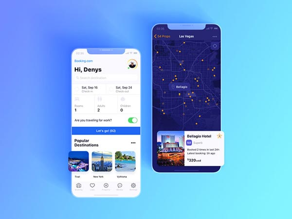 15 Booking  Payment Mobile App UI Designs For Inspiration