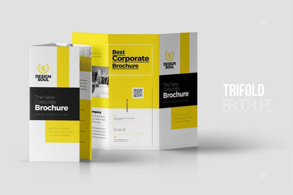 12 Best Tri-Fold Brochure Templates For InDesign 2018 - trifold indesign template