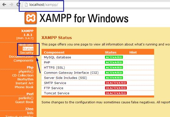 12-status-xampp